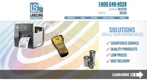 labeling solutions new website